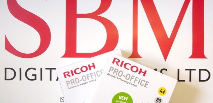 photocopier paper with sbm