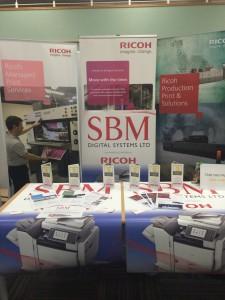 Telford Business Expo 2015, Ricoh photocopier & printer supplier