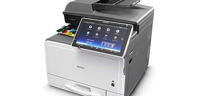 ricoh multi function printer MP-C306