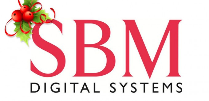 sbm digital photocopiers xmas logo